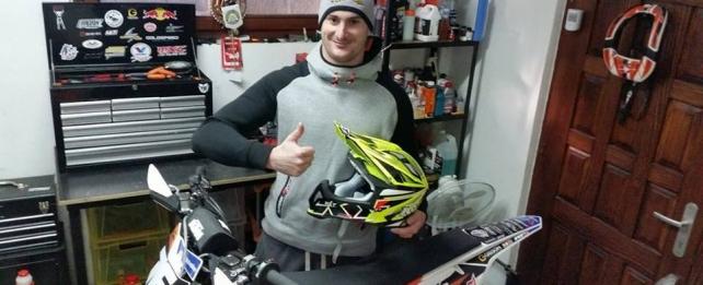 TK racing & KYT helmets